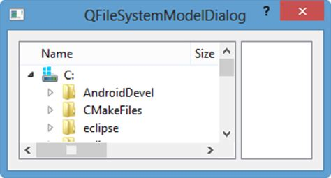 qtreeview tutorial qt5 tutorial modelview with qtreeview and qfilesystemmodel