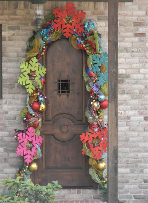 christmas door decorations ideas   copy decoration love