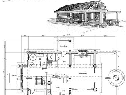 large one story floor plans cabin house plans with garage small cabin house plans