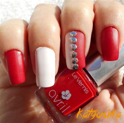 imagenes de uñas pintadas en color rojo u 241 as decoradas rojo parte 1 katyushka nails