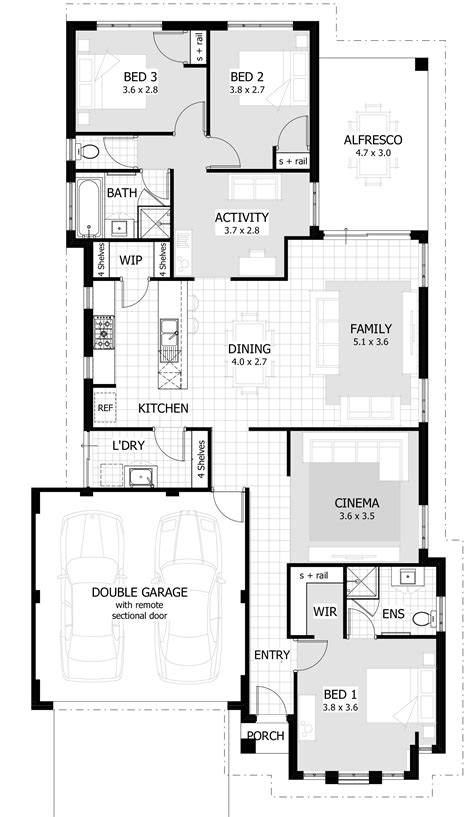 house designs floor plans 3 bedrooms beautiful unique 3 bedroom house plans new home plans design
