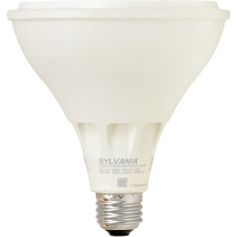 Shop Sylvania 120 W Equivalent Dimmable Warm White Par38 Par38 Led Flood Light Bulbs