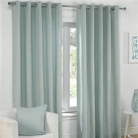 duckegg blue curtains plain duck egg blue lined eyelet curtains tony s