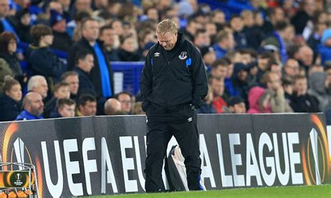 Hilary Admits To Feeling Pressure To Get by Ronald Koeman Admits He Is Starting To Feel The Pressure