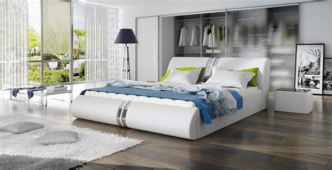 lit design galilee 160 cm avec sommier relevable