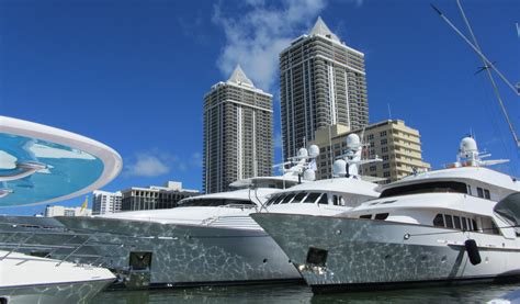 miami international boat show and the miami yacht show - Miami Boat Show Highlights