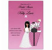 Gifts Abound African American Bridal Shower Invitations  PaperStyle