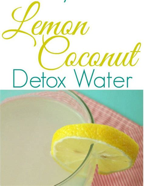Can You Use Lemon Juice For Detox Water by 10 Refreshing Detox Waters Water Detox