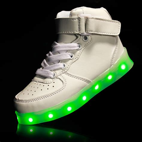 shoes that light up for boys usb charging led light up luminous shoes boys