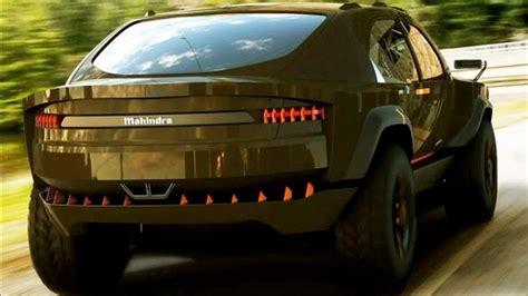 mahindra teases xuv aero concept  coupe suv youtube