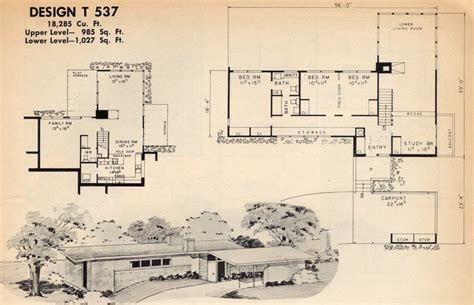 mid century modern ranch house plan with courtyard 1000 images about mid century atrium courtyard house on