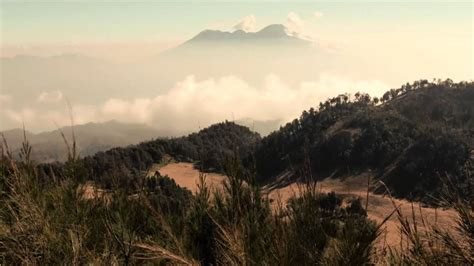 mount butak malang east java indonesia