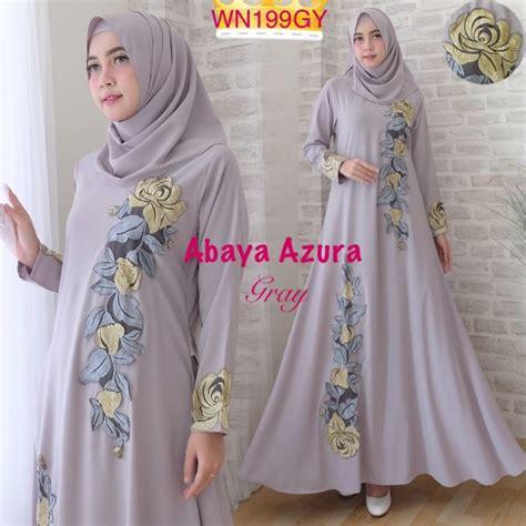 Abaya Bordir 2 by Abaya Bordir Azura Baju Gamis Muslim Modern Murah