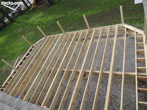 composite deck construction installing composite decking decks