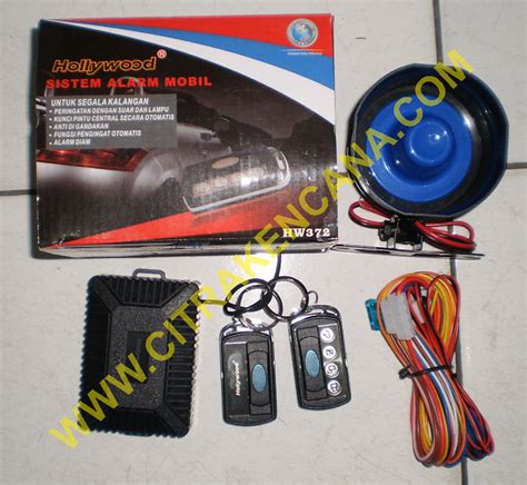 Alarm Mobil Dan Central Lock jual paket central lock alarm mobil citra kencana
