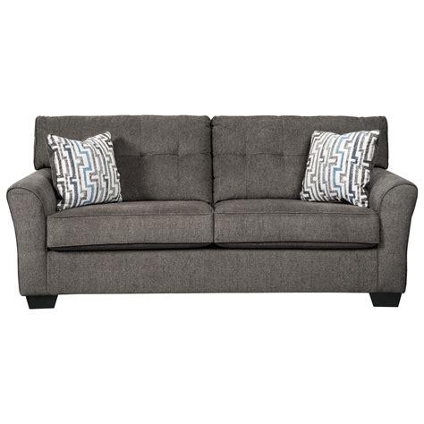 tufted sleeper sofa benchcraft alsen contemporary sofa sleeper with