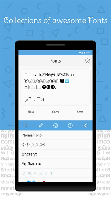 different fonts for android cool fonts for instagram bio android apps on play