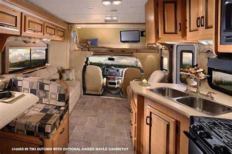 motor home interior motorhome rentals abc alaska motorhome rentals