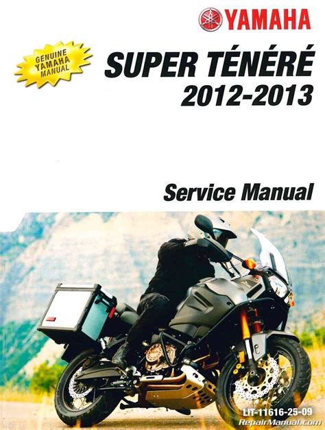 motocross bike repairs 2012 2013 yamaha xtz12b super tenere motorcycle repair