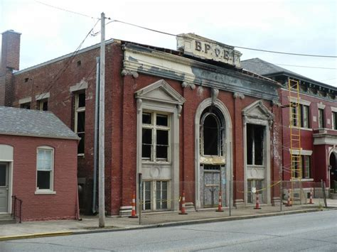 Detox In Indiana by Ruins Of Abandoned And Burned Elks Lodge Indiana