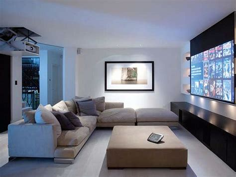 Projector In Living Room | living room projector solution favorite places spaces