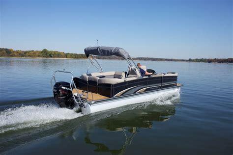 ski boat vs tritoon premier 275 intrigue pontoon deck boat magazine