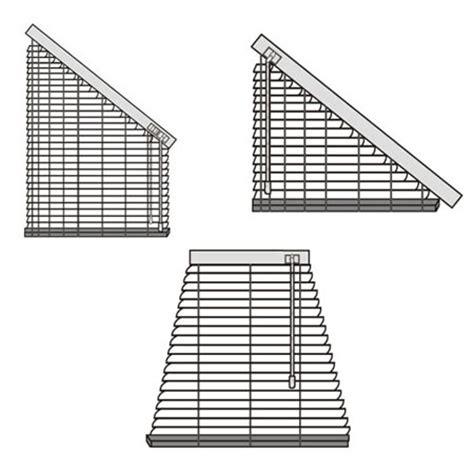 jalousien bestellen jalousien f 252 r verschiedene fenster dreieckfenster