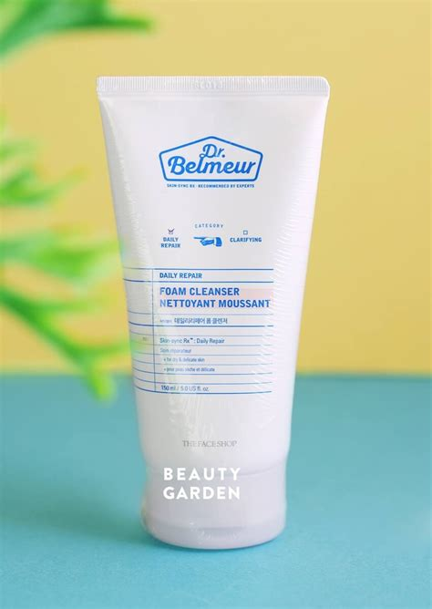 Sle Dr Belmeur Foam Cleanser sữa rửa mặt dr belmeur daily repair foam cleanser