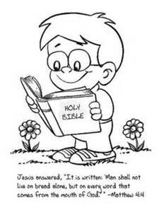Cute coloring page for the kids to color as we talk about reading the