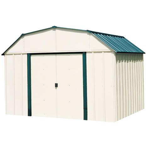 arrow sheridan  ft   ft steel storage shed