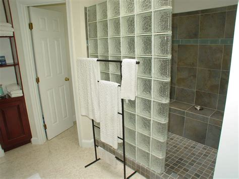 glass block bathroom ideas 4 ideas for using glassblock at home mybktouch