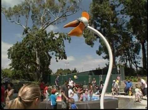 splash pad pours summer in garden grove