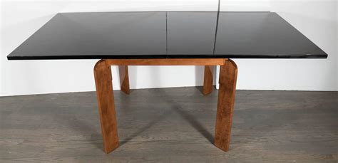 streamline deco flip top extension dining table or