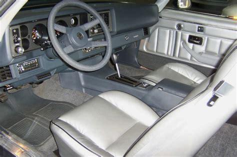 1981 chevrolet camaro z28 interior moondust silver