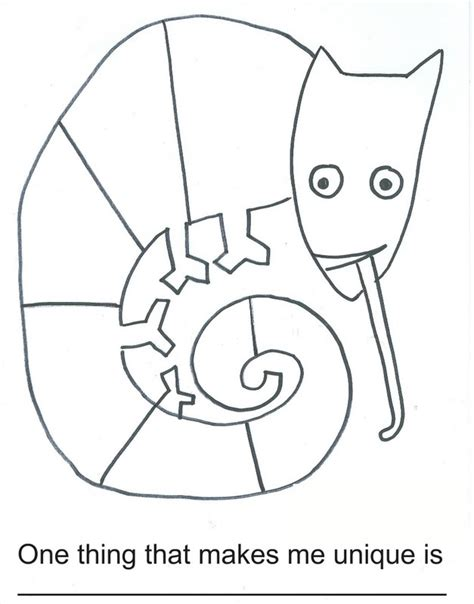 mixed up chameleon template free coloring pages of mixed up chameleon
