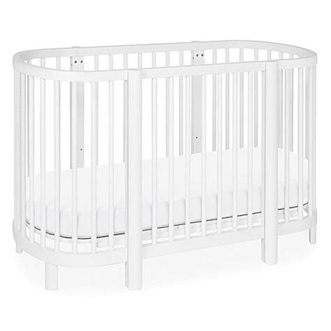 Buy Babyletto Hula Convertible Oval Crib Mini Bassinet In Bassinet Crib Convertible