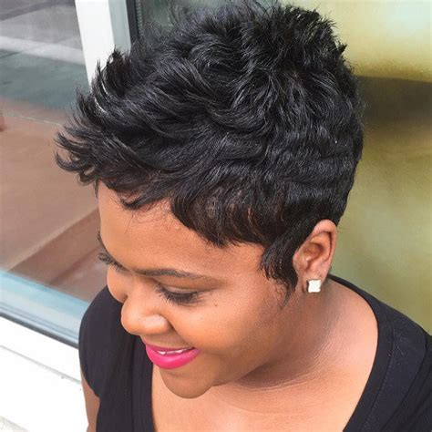 short pressed out hairstyles for black women 60 great short hairstyles for black women
