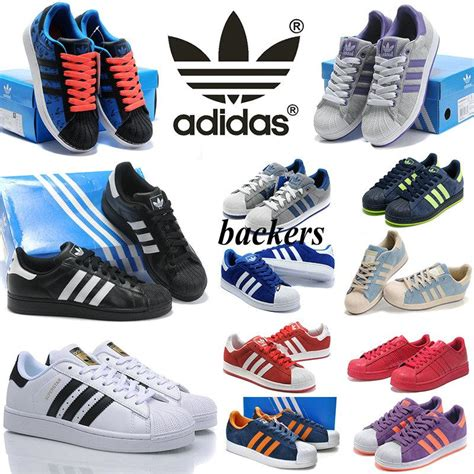 originals adidas superstar shoes running classic sneakers sports black and white