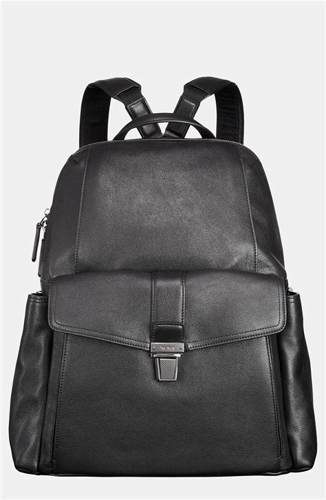 tumi beacon hill brimmer backpack in black for lyst