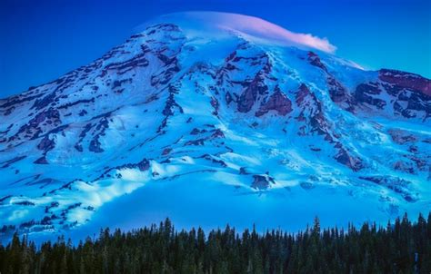 wallpaper usa united states trees mountain snow