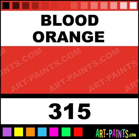 blood orange dura specialty ink paints 315 blood orange paint blood orange color