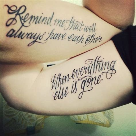 couple quote tattoo 115 beautiful quotes designs to ink