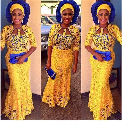 children styles in kamdora wedding glam asoebi colours yellow and blue kamdora