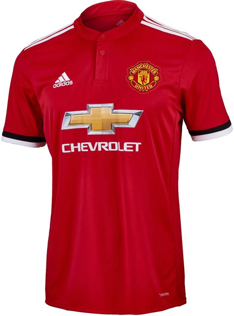 Jersey Bola Manchester United Home New 17 18 Grade Ori adidas manchester united home jersey 2017 18 soccer