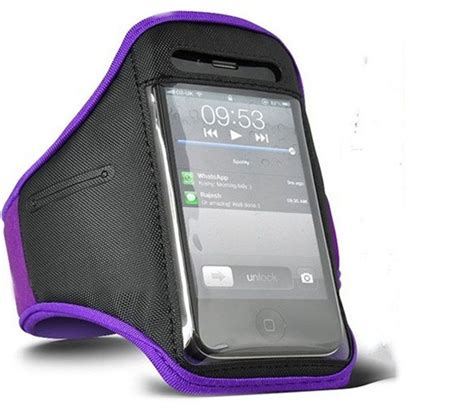 Padded Material Sports Armband For Iphone Ze Ad005 padded material sports armband for iphone 4 4s ze ad004 purple jakartanotebook