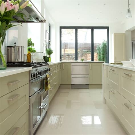 modern white and pale green kitchen kitchen decorating