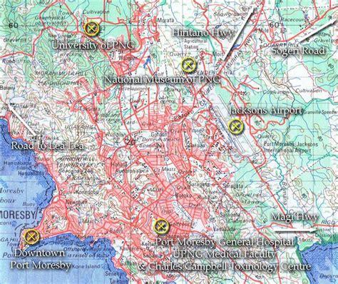 port moresby map o shea the official website
