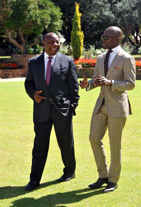 minister malusi gigaba briefs deputy president cyril ramap