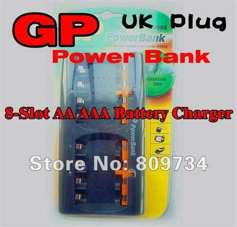 Gp Batteries Charger Aa Aaa 8 Slot battery gp nimh chinaprices net