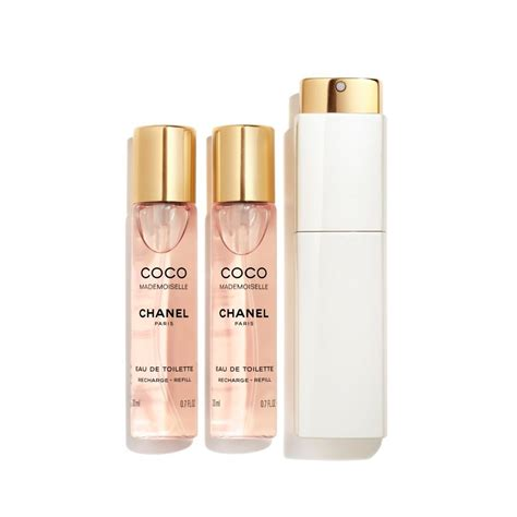 Parfum Twist coco mademoiselle eau de toilette twist and spray